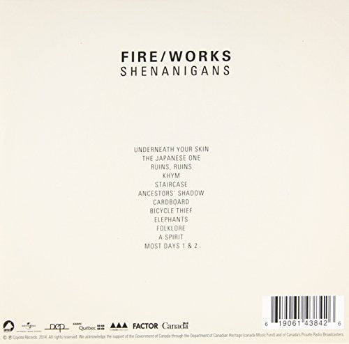 Shenanigans [Audio CD] Fire/Works