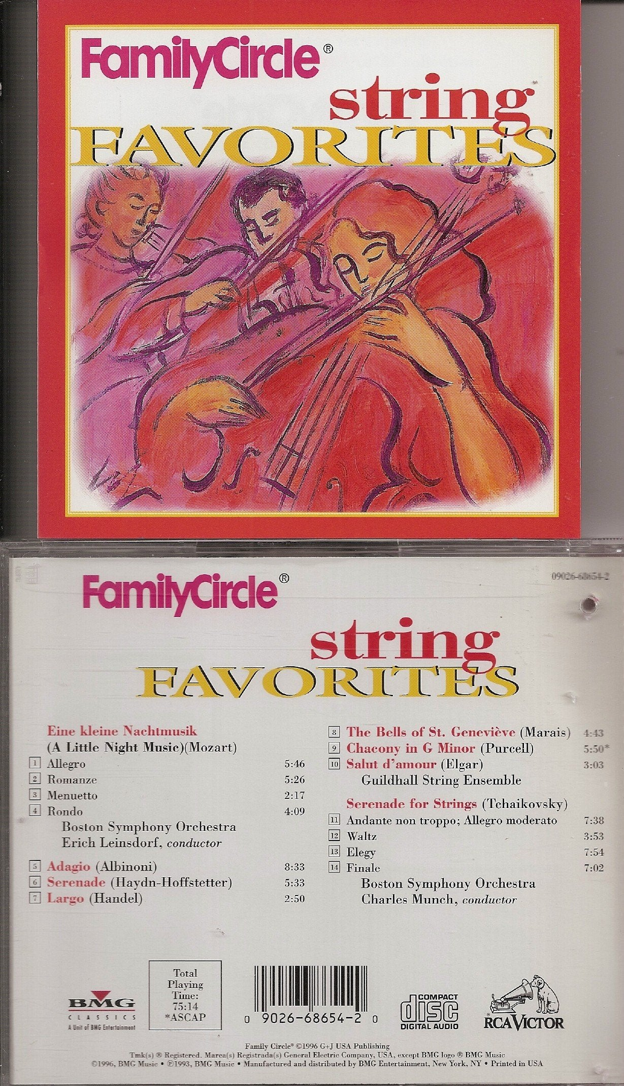 String Favorites [Audio CD] Family Circle
