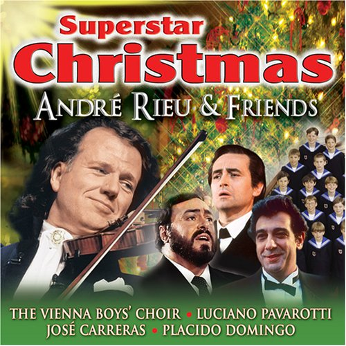 Superstar Christmas [Audio CD] Rieu, Andre and Friends