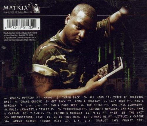Thug Matrix 2 [Audio CD] Tragedy Khadafi