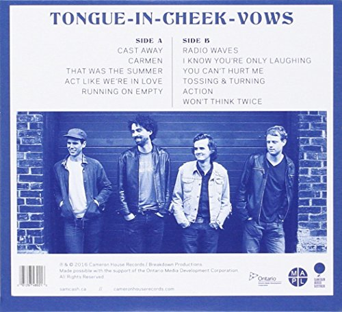 Tongue-In-Cheek Vows [Audio CD] Sam Cash & The Romantic Dogs