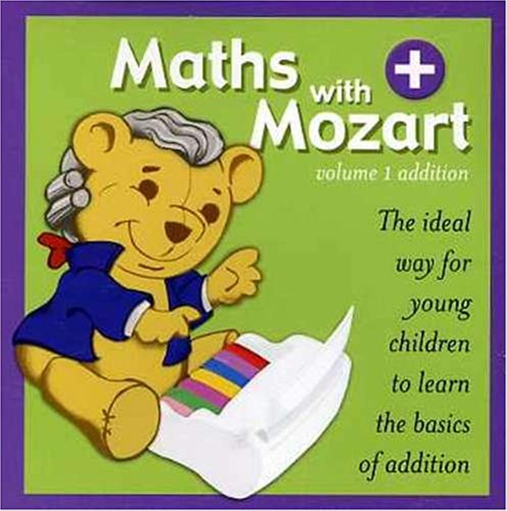 Vol. 1-Math With Mozart-Addition [Audio CD] Children's Recordings