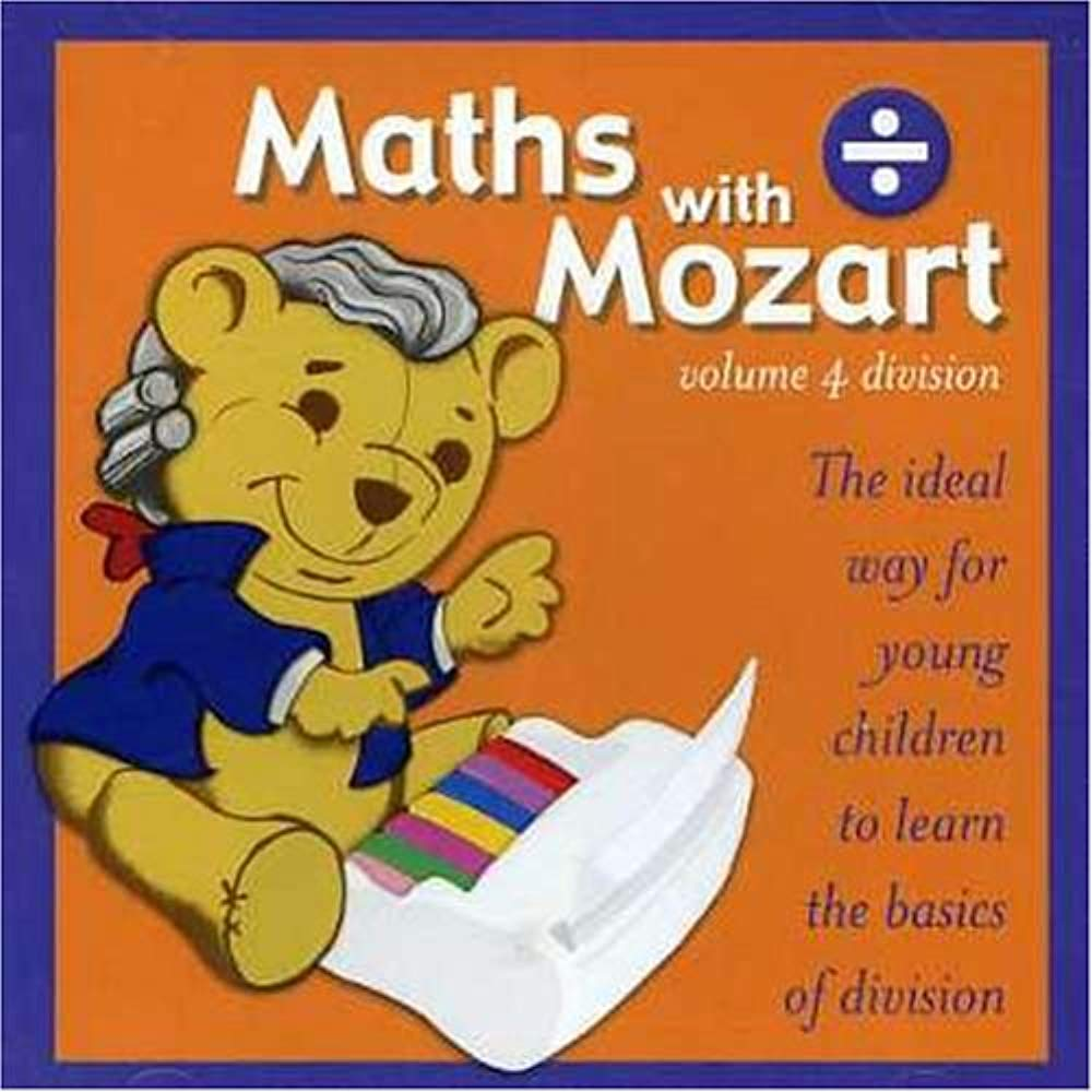 Vol. 4-Math With Mozart-Division [Audio CD] Children's Recordings
