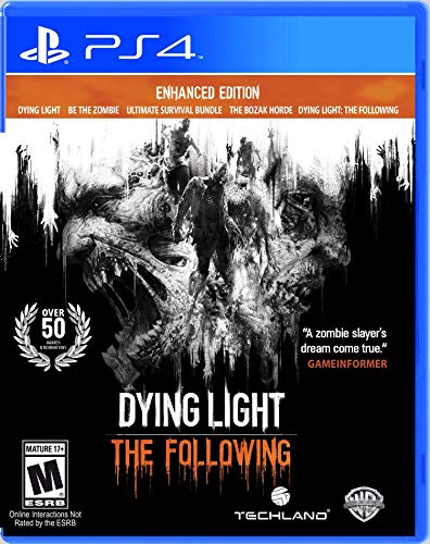 WARNER HOME VIDEO GAMES Dying Light The Following Enhanced Edition PS4