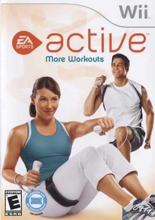 Nintendo Wii Active More Workouts T874