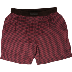 Maroon Printed Shorts