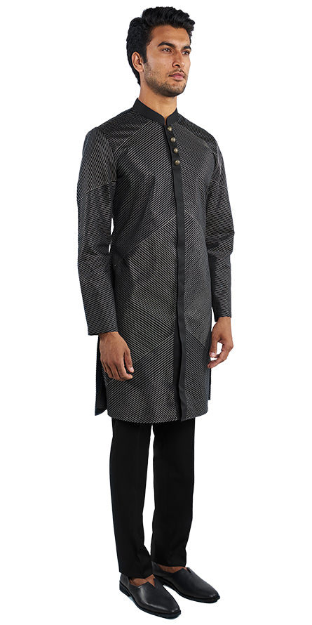 Dark Navy Kurta