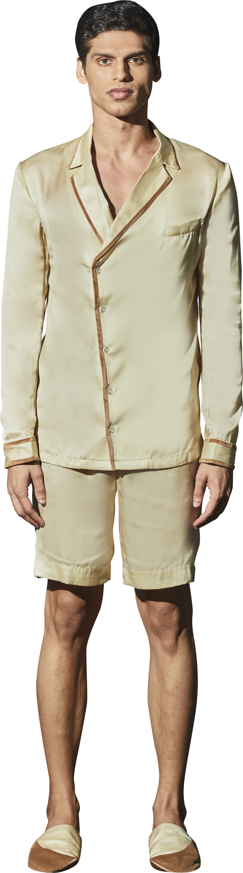 Beige PJ Set - Men
