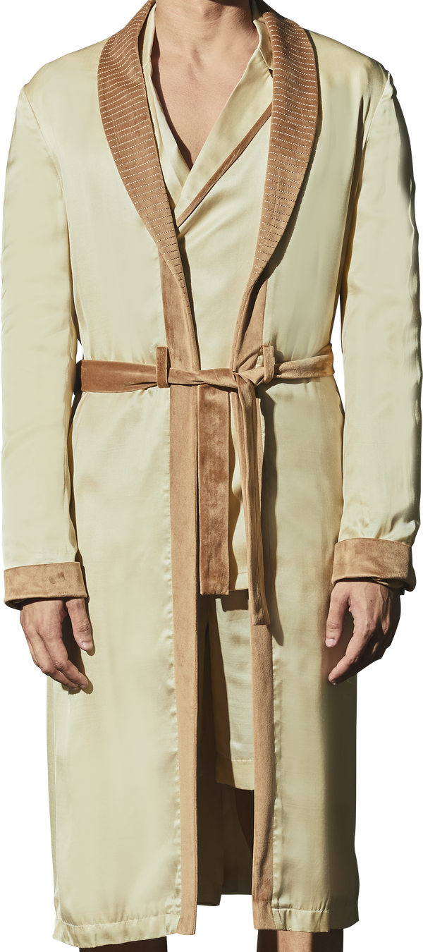 Beige Robe - Men