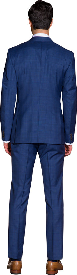 Cobalt blue two piece suit
