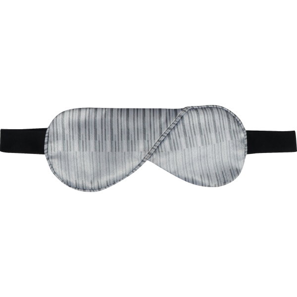 Blue Line Print Eye Mask
