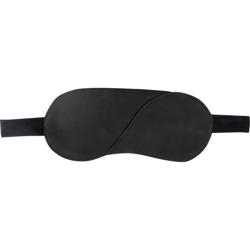 Solid Black Eye Mask