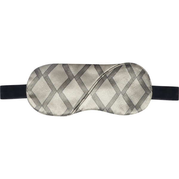 Cross Print Eye Mask