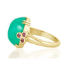 Chrysoprase Cocktail Ring