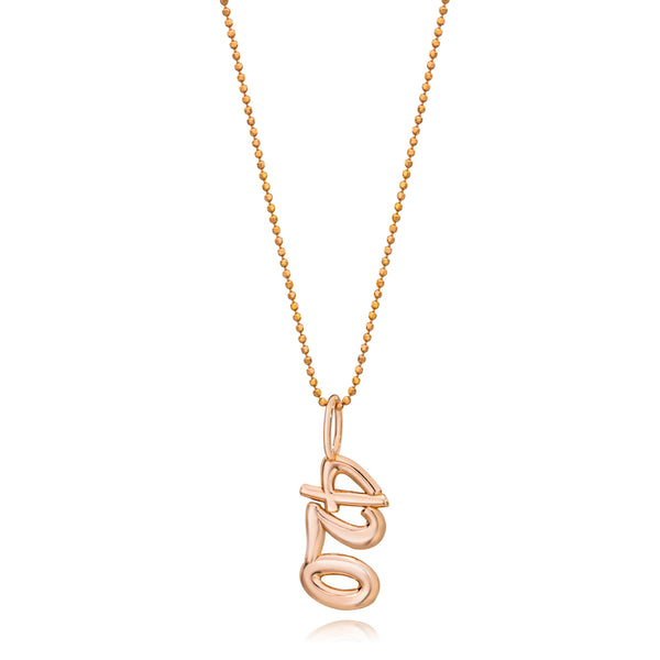 Small Gold 420 Pendant Necklace