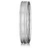 4mm Milgrain Comfort Wedding Band Set