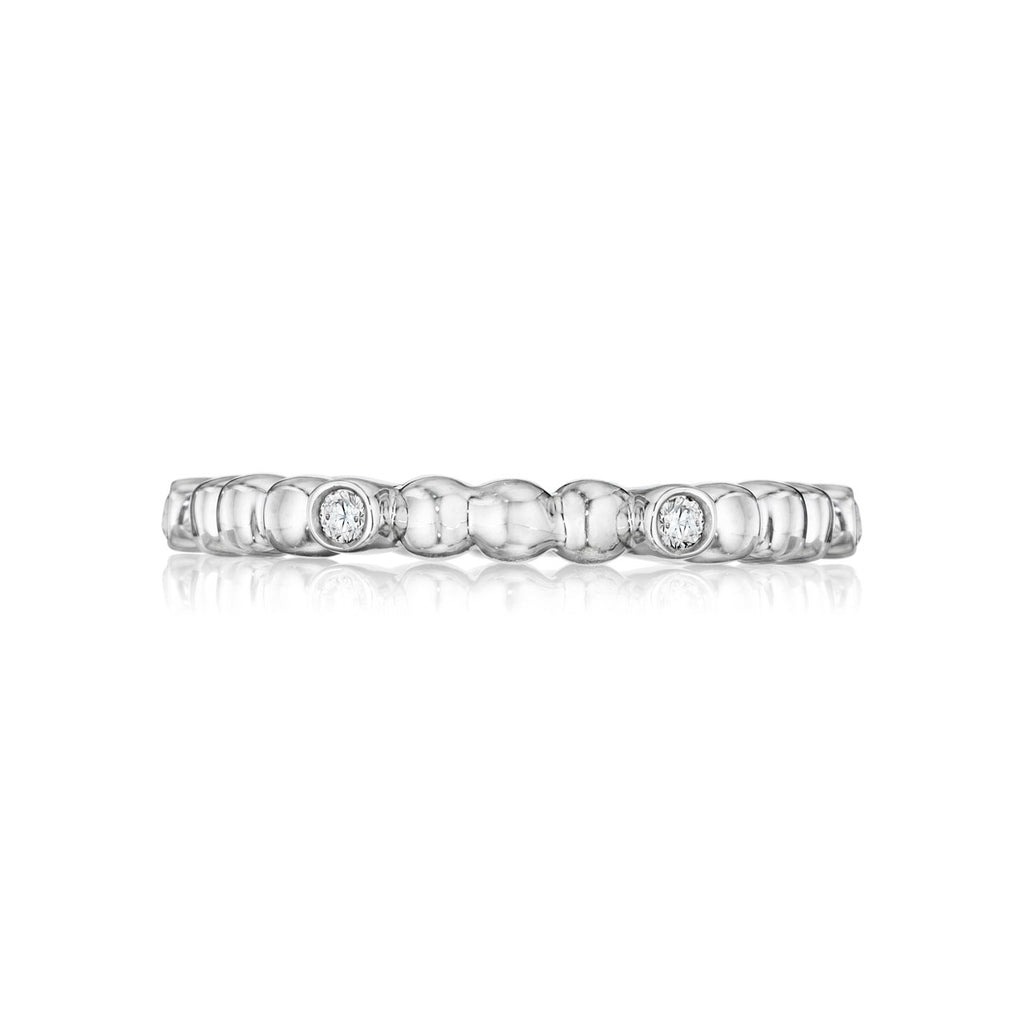 Diamond Dots Eternity Wedding Band