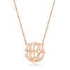 Large Monogram Necklace