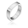 5MM Four Sided Wedding Band