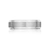 Men's 6MM Beveled Comfort Wedding Band