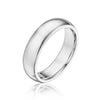 5mm Half Round Comfort Wedding Band