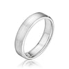 5MM Flat Round Edge Wedding Band