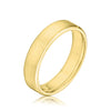 Men's 5MM Flat Round Edge Wedding Band