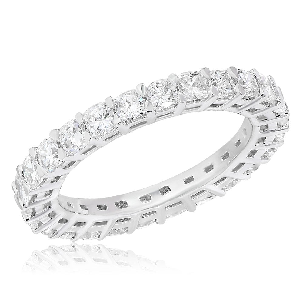 Shared Prong Diamond Band-2.53TW