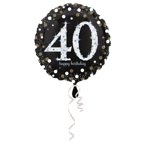 "18"" Folienballon 40 Sparkling Celebration"