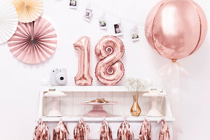 40cm Foil Balloons Ball rose-gold
