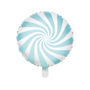 "18"" Foil Balloons Candy hellblau"