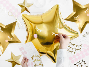 "18"" Foil Balloons Stern gold"