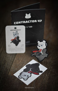 Contractor 47: Limited edition patch