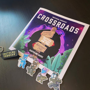 Tactical Teddies® Limited Edition Crossroads Comic