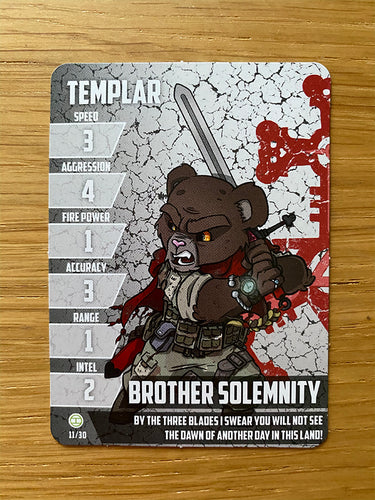 Brother Solemnity - Teddy Templar