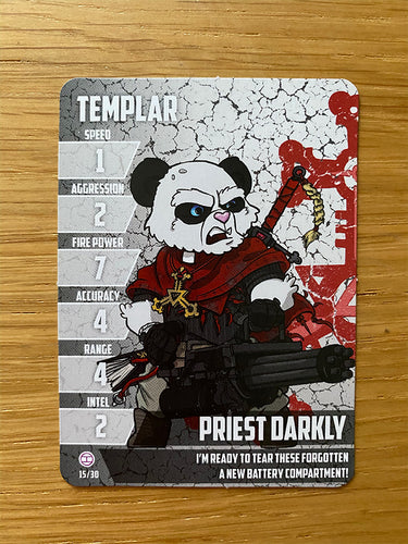 Priest Darkly - Teddy Templar