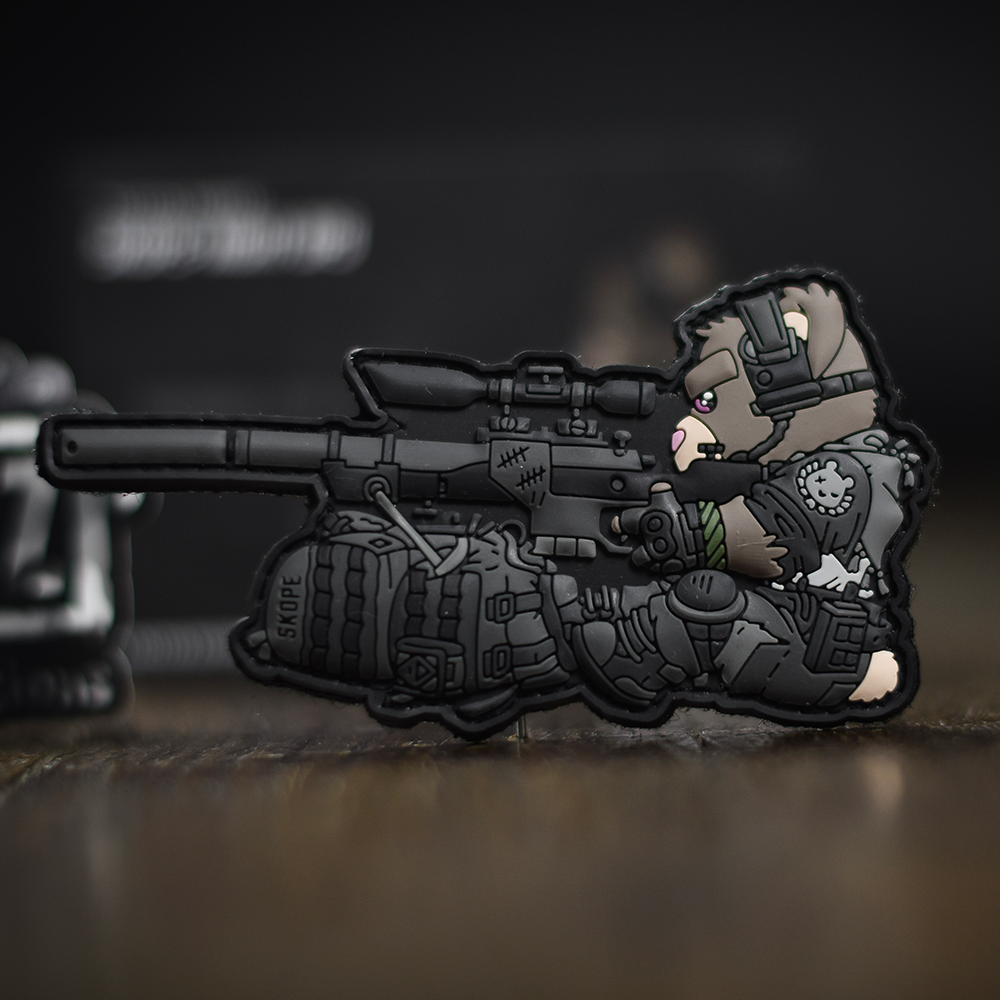 Tactical Teddies® Skope Night Ops limited edition patch