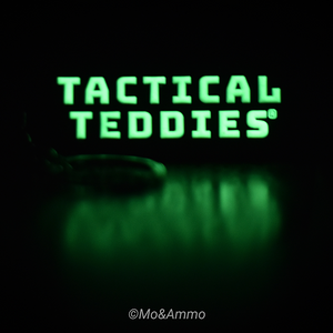 Tactical Teddies® Morale Patch and Keyring bundle