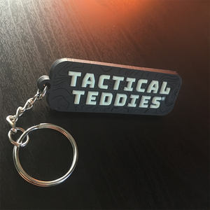 Tactical Teddies® Patch and Keyring bundle