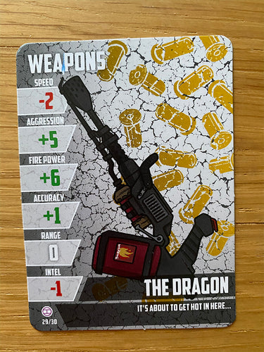 The Dragon - Weapon