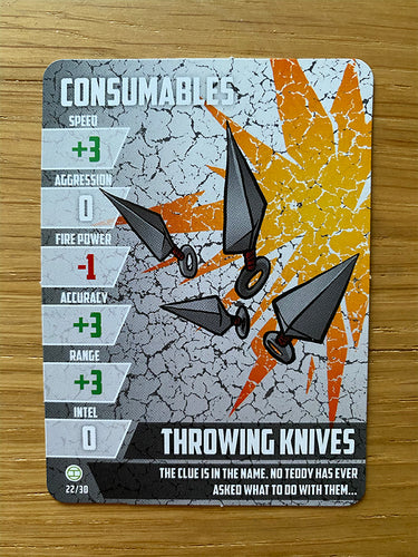 Throwing Knives - Consumable