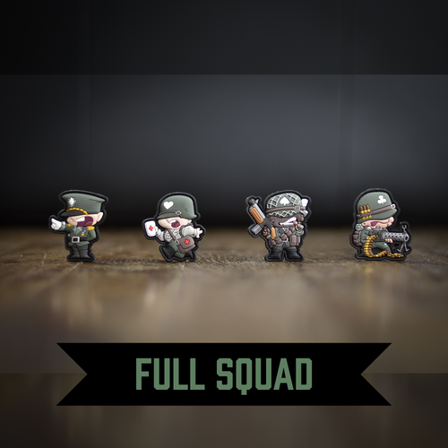 Tiny Hats: WWII Full Squad