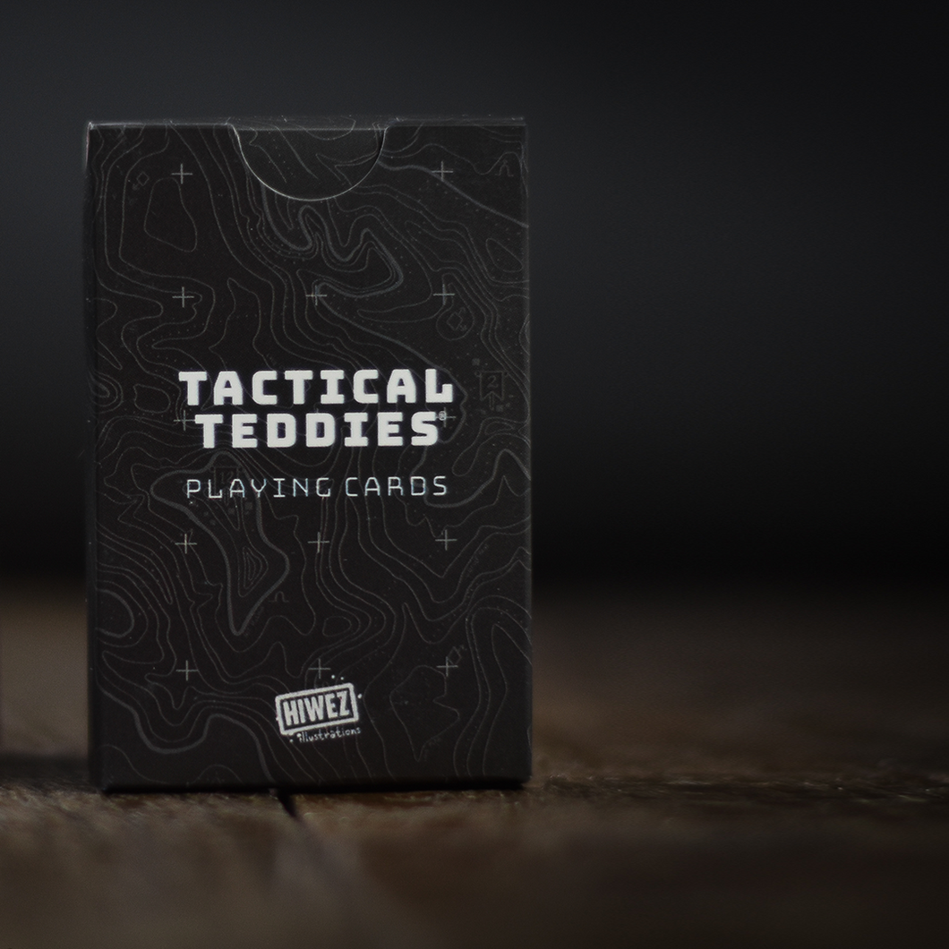 Tactical Teddies® Playing Cards