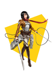 """Mikasa"" Full Body by Dominic Glover"