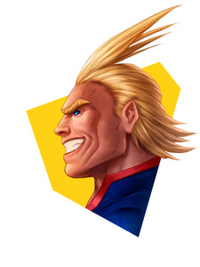 All Might Head Shot by Dominic Glover