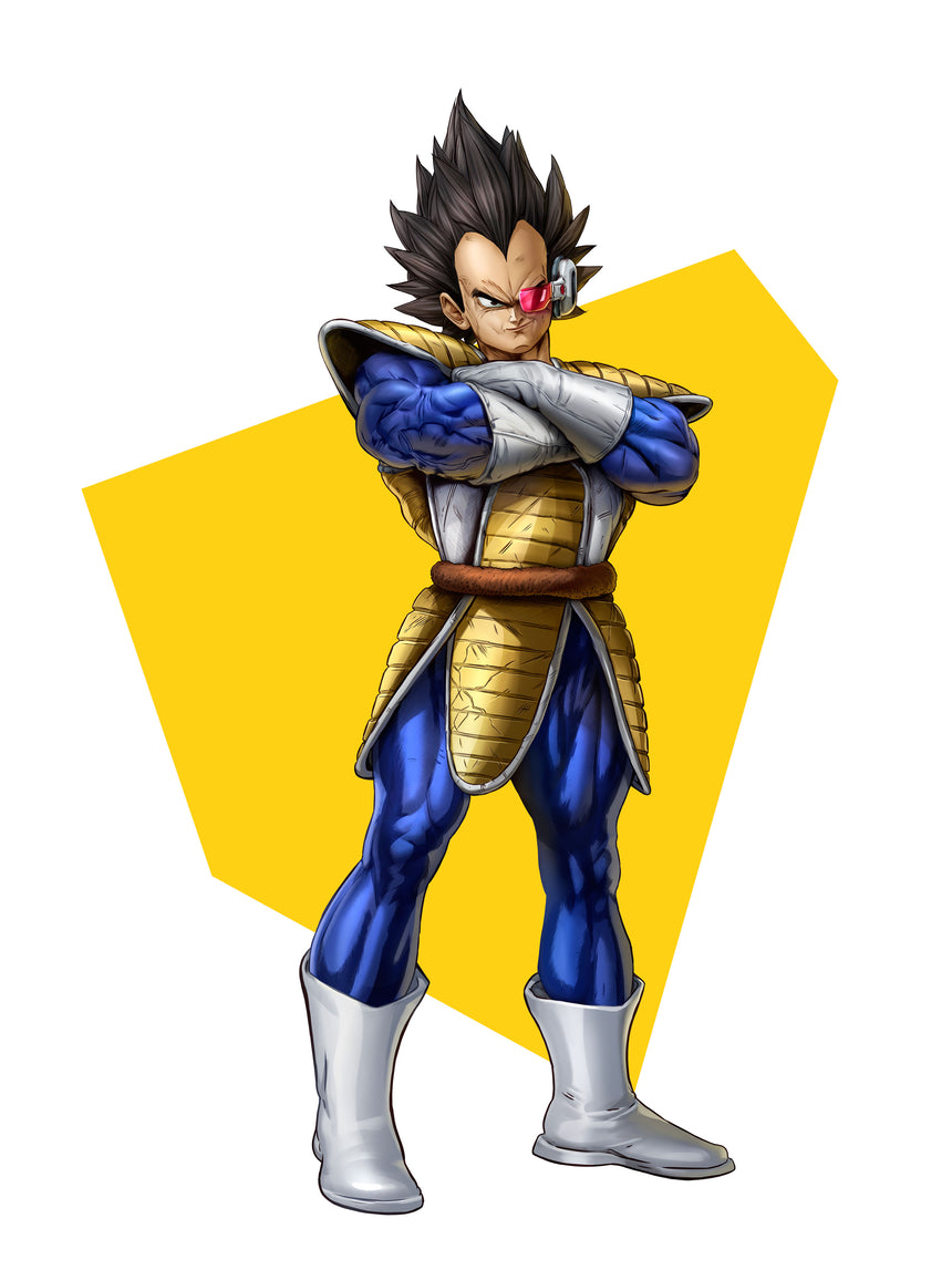 Vegeta Full Body by Dominic Glover