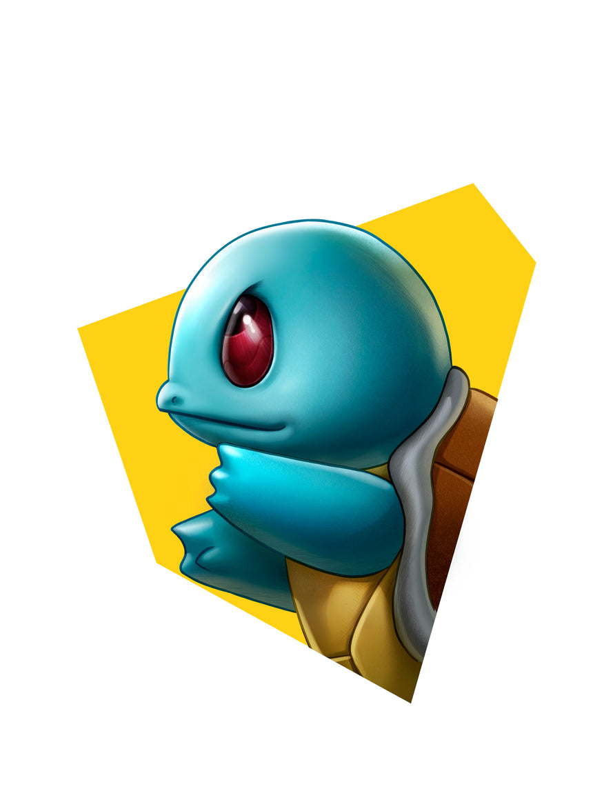 Squirtle Head Shot by Dominic Glover