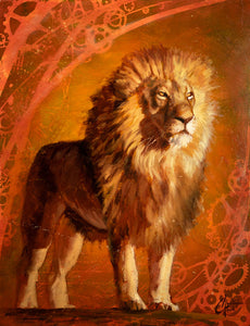 Lion King II by Christopher Clark