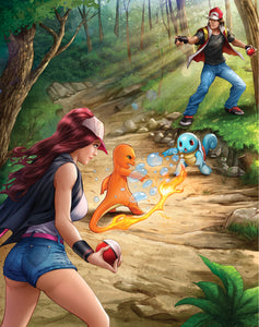 """Pokemon"" by Dominic Glover - PAPER & CANVAS AVAILABLE"