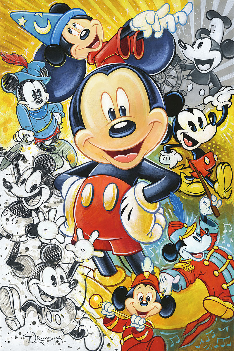 """90 Years of Mickey Mouse"" by Tim Rogerson"